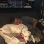 Clark and Pabs resting