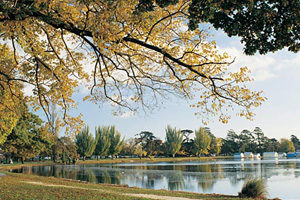 Ballarat lake wendouree Tegan and Clark travels