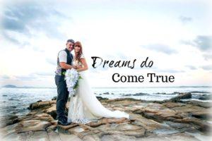 Tegan Mathews marries Clark Marshall Feb 17th 2018 Sunshine Coast Australia