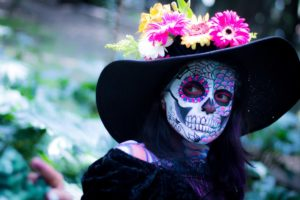 Mexico day of the dead image